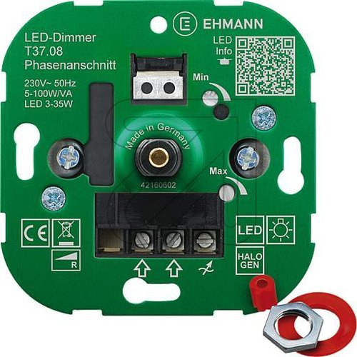 LED UP Dimmereinsatz T37.08 104852 - EAN 4012096004424