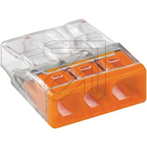 WAGO Compact-Steckklemme orange 3x2,5mm² 2273-203 - EAN 4050821027850