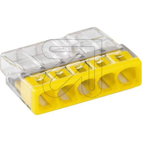 WAGO Compact-Steckklemme gelb 5x2,5mm² 2273-205 - EAN 4050821027874