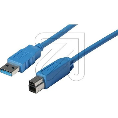 EGB USB-Kabel 3.0 A/B 1 m CO 77031 - EAN 4027236026341