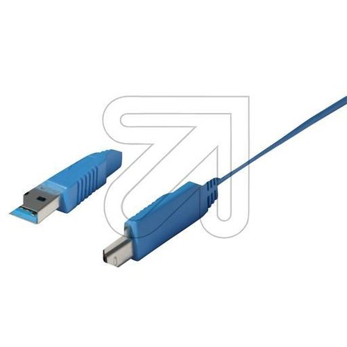 EGB USB-Kabel 3.0 A/B 1,8 m CO 77032 - EAN 4027236026358