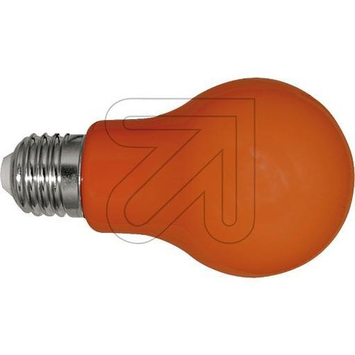 LED Lampe Glühlampenform  E27 3W orange  gg106547 - EAN 4260452134128