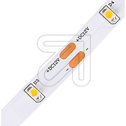 Super LED-Strips-Rolle 5m warmweiß 24W IP20 LSTRSB 2012153502 B8mm 12V DC - EAN 4037293375887