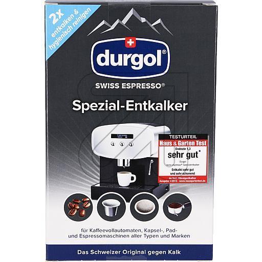 spezial entkalker durgol swiss espresso ean 7610243002667. Black Bedroom Furniture Sets. Home Design Ideas