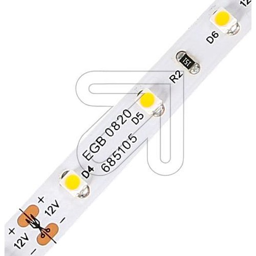 EGB LED Stripe-Rolle IP20 12V-DC 18W/5m 3000K (Chip 3528) - EAN 4027236044017