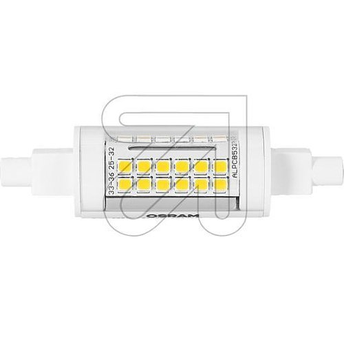 OSRAM LED SLIM Line 78,0mm 60  6W 827 R7S 5432710 - EAN 4058075432710