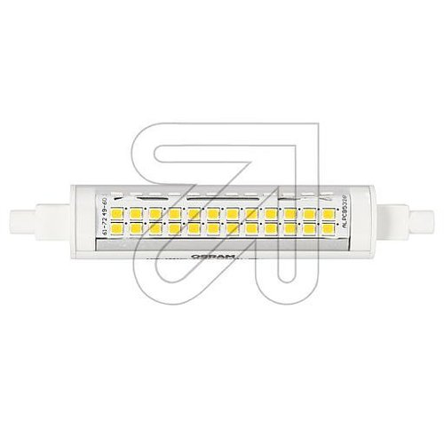OSRAM LED SLIM Line 118,0mm 100  11W 827 R7S 5432734 - EAN 4058075432734